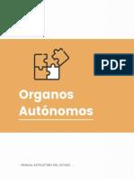 Estructura del Estado Colombiano - Organos Autonomos