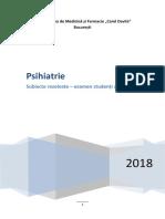 PSIHIATRIE