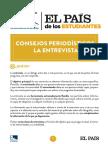 Pautas Para Una Entrevista - El País