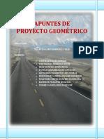 Apuntes de Proyecto Geométrico
