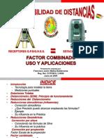 """Presentación"""" Compatibilidad de Distancias"""" FACTOR COMBINADO uso y aplicaciones"""