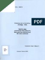 Didactica de La Aritmetica