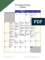 ap language may calendar