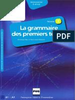 La Grammaire Des Premiers Temps - Vol 1(1)