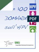 100domande Hpv 2014