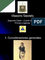 Grado 04 Maestro Secreto Full