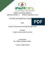 CARRERA INGENIERÍA AMBIENTAL Trabajo Control de Emisiones