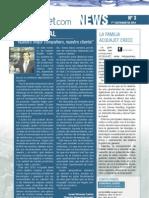 Boletín Informativo Acquajet News nº3