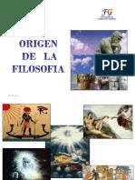 Exp. - Origen de La Filosofía