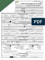 SI 9 Formulario Ficha de Investigación de Campo (RICF20)