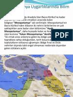 Sümer Imparatorluğu Bilim Tarihi