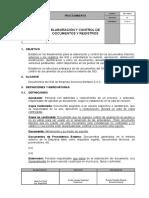 Pgy-sb-001 Elaboracion y Control de Documentos y Registros
