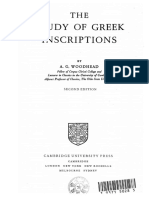 The Study of Greek Inscriptions