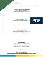 2. Plantilla Informe Técnico