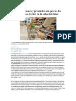 Remarcaciones y Productos Sin Precio - Los primeros efectos de la suba del dólar