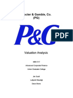 PG Valuation Analysis Project Final