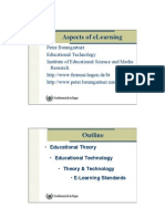 Aspects of eLearning