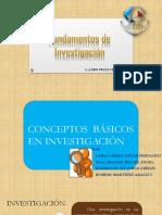 Conceptos Basicos de Investigación