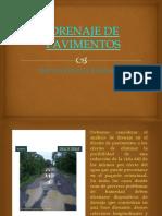 Drenaje de Pavimentos - Diapiositivas