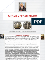 Medalla de San Benito Excelente !!!