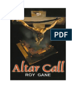 Altar Call, Roy Gane