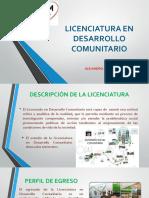 Licenciatura en Desarrollo Comunitario