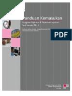 Panduan Kemasukan program Diploma dan Diploma Lanjutan (kemaskini Sep2010) ILJTM (ILP, ADTEC, JMTI)