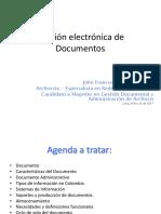 Mod. VII Presentación_Peru_Gestión Electrónica de Documentos