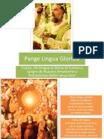 Pange Lingua Gloriosi (Cantada en Latín y Traducida al Español) EXCELENTE !!!