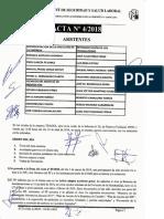 Acta 4/2018 Comité de Seguridad y Salud Laboral Tragsa UT 2 CV