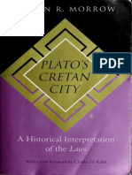 Platos Cretan City a Historical Interpretation of the Laws-1 - Copy
