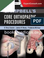 Campbells Core Orthopaedic Procedures