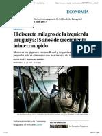 El discreto milagro de la izquierda uruguaya