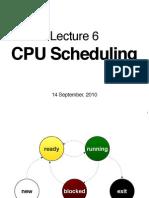 CS2106 Lec6 Scheduling