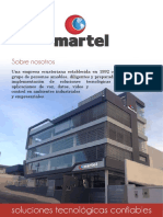 Carta de Presentación Martel