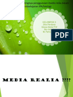 Pembelajaran Media Realia PPT