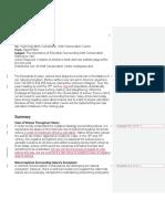 recomendation report david parks track changes