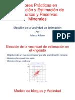 5 - Eleccion Vecindad Estimacion - M. Alfaro - Consultor