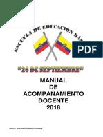 Manual de Acompañamiento Docente 2018 Eeb 26 de Septiembre