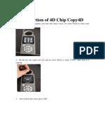 Cbay Key Programmer 4d Chip Copy User Manual