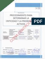 M-TIAA-P-A1.0 Procedim. Para Determinar La Criticidad y Prioridad en Activos (10022018)