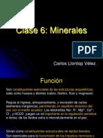 Minerales Clase 6 y 7