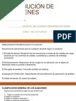Distribucíon de Almacenes- CONCEPTOS BASICOS