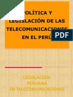 Tema 9 - Politica y Legislacion en TC Peru