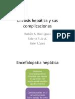 Cirrosis Hepática y Sus Complicaciones