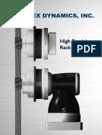 Catalog Rack and Pinion