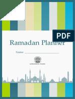 Ramadan Planner 2018b