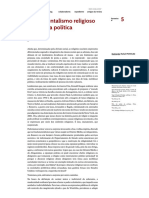 Marilena CHAUÍ - fundamentalismo religioso e teologia política