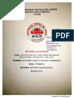 Clasificación de La CIDDM Y La CIF