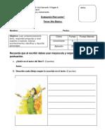 Evaluación de Libro CHISPAS